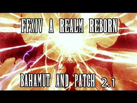 FFXIV ARR: Gamescom Interview #2 Review & Thoughts (Bahamut & Raid Difficulty)