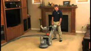 Chem-Dry Carpet Cleaning Process