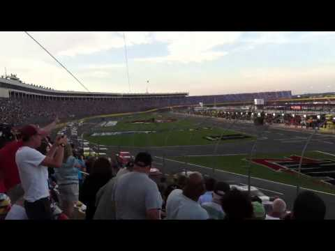 Coke 600-2013: Camera cables break