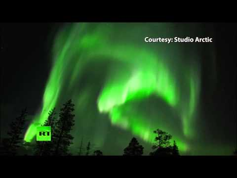 Northern Lights: Aurora Borealis solar storm moves south & dazzles