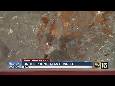 Residents in one Phoenix neighborhood still without...
