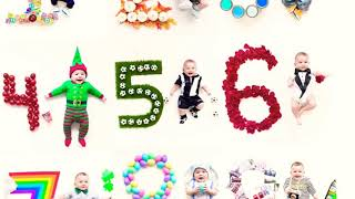 Month by month baby photoshoot ideas at Home |DIY-monthly baby photoshoot