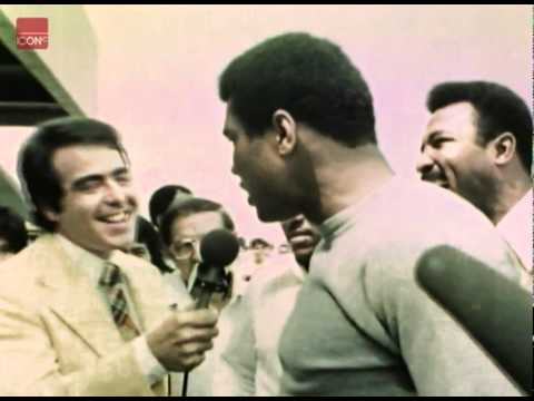 Muhammad Ali engaging in some of hi ...