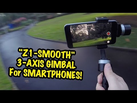 Z1-Smooth Review - 3 Axis Gimbal for Smartphones