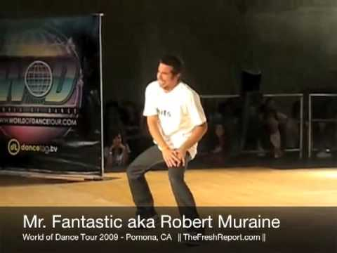 Mr Fantastic World Of Dance 2009 Pomona (Full Length) Video