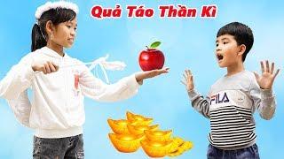 Em Bé Tham Lam Và Quả Táo Thần Kỳ - Bài Học Cho Bé ♥ Min Min TV Minh Khoa