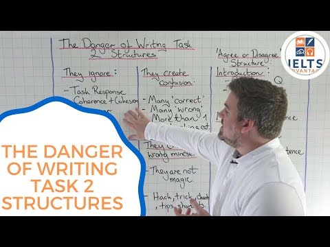 The Danger of IELTS Writing Task 2 Structures