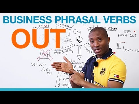 """OUT"" Phrasal Verbs – Business English"