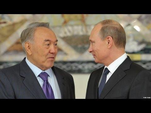 Путин наехал на Назарбаева