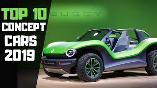 Top 10 Best Future Concept Cars 2019 Must See