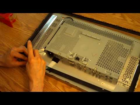 Dell 2407WFP Monitor Power Button Repair Part 4