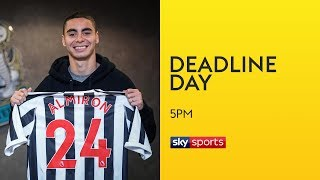Newcastle break transfer record to sign Almiron for £21m! | Transfer Deadline Day | Sky Sports News