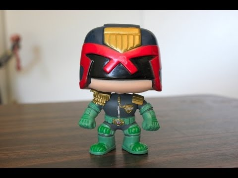 Judge Dredd Funko Pop review