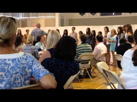 The Bel Cantos of The Agnes Irwin school singing The Rainbo - 09/26/2013