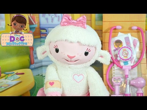 DISNEY Doc McStuffins TAKE CARE OF ME LAMBIE Toy Review NEW