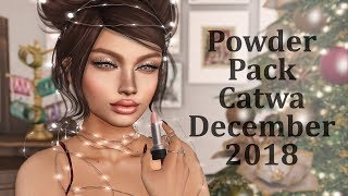 Powder Pack Catwa December 2018 in Second Life