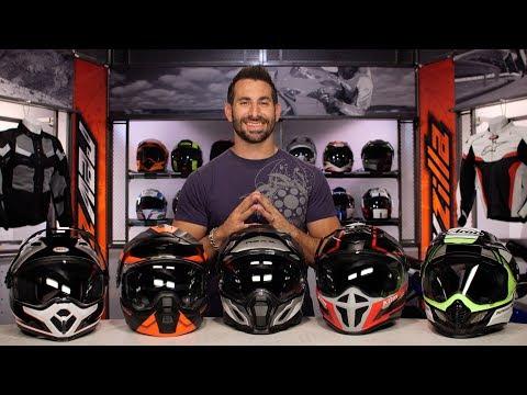 Best Dual Sport Motorcycle Helmets at RevZilla.com