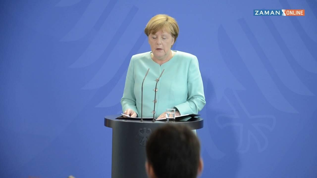 Merkel'den İngiltere referandumu sonrası 'içte birlik' çağrısı