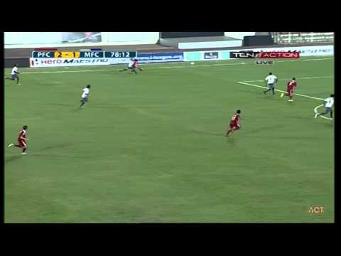 Hero I-League 2015 PUNE (3) VS MUMBAI (2) 1-2- 2015