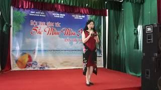 Tác giả THANH HÀ (GV ĐH Văn Hóa) đọc thơ: VỀ VỚI BIỂN tại Nam Định
