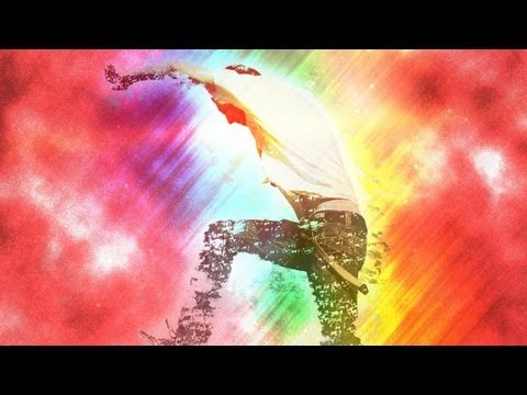 Sparking Rainbow Light Disintegration | Photoshop Tutorial