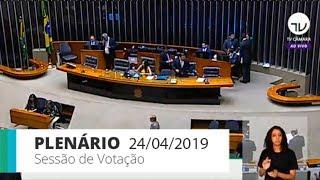 Plenário - Votação de propostas legislativas - 24/04/2019 - 14:00