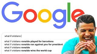 Football players answer Google's FUNNIEST questions - Oh My Goal