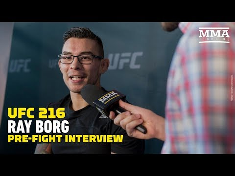 Ray Borg Guarantees a Win Over Demetrious Johnson at UFC 216 - MMA Fighting