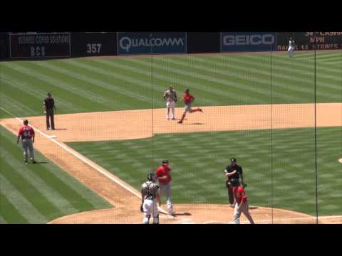 Ryan Zimmerman Home Run - at San Diego Padres - May 19, 2013