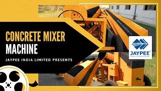 Concrete Mixer Machine Video Jaypee® 90512 34444 , 10/7 Capacity Concrete Mixer, Mixer Machine