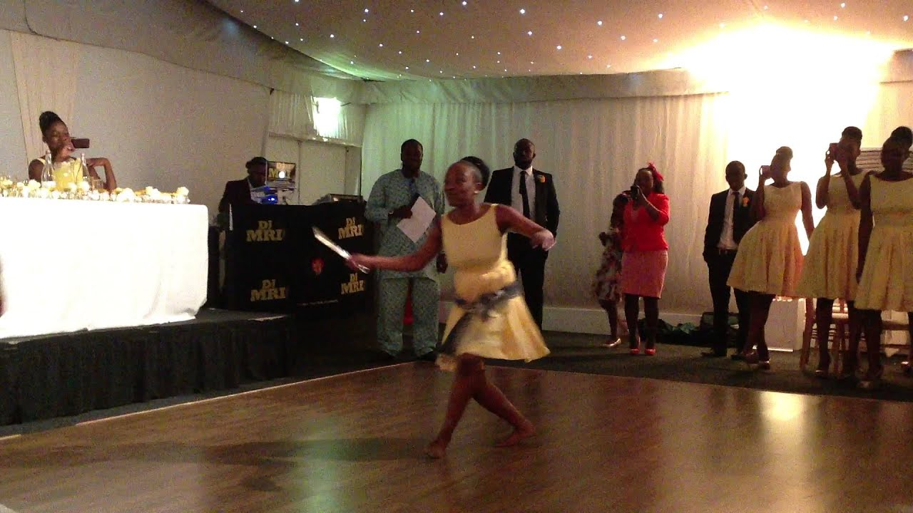 Zambian Wedding Cake Cutting Dance YouTube