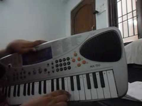 Uppenantha Song From Arya 2 On Piano