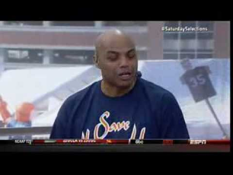 Charles Barkley on College Gameday predictions (picks Auburn over Alabama) 11/30/13