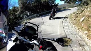 Benelli TRK 502 - Discesa panoramica - GoPro Hero 7- 4K