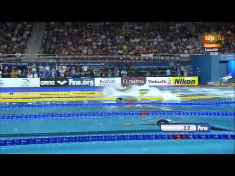 Men's 50m freestyle final 12th FINA World Swimming Championships (25m) Doha 2014
