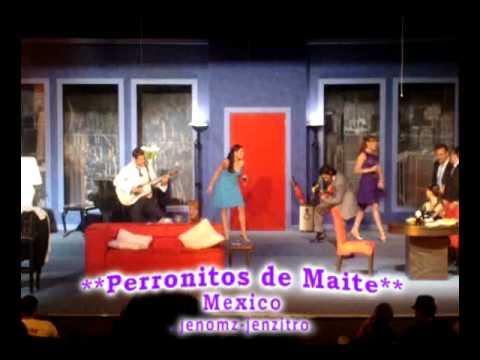 Video completo de Maite y Chantal cantando Equivocada en Cena de Matrimonios. DF 05-Mayo-2010.