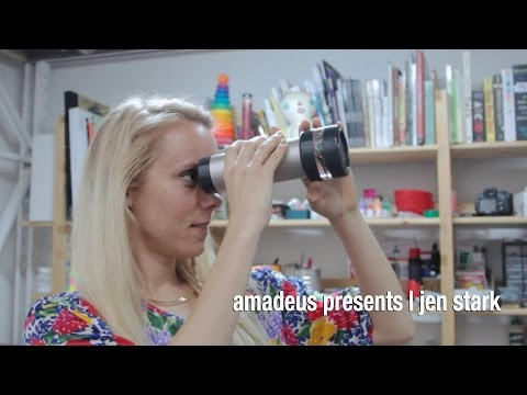 amadeus presents | Jen Stark | artist profile - YouTube