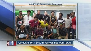 DPD officers help Ethiopian soccer team