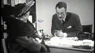Beryl Reid & Hugh Paddick in the Income Tax Sketch - 1968