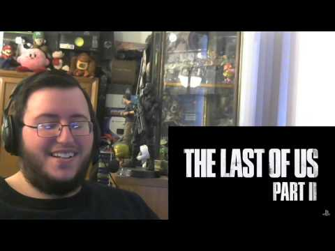 Gors THE LAST OF US 2 Official Reveal Trailer Reaction (PlayStation Experience!)
