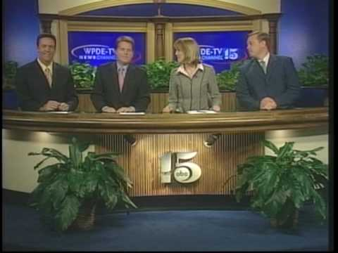 HQ WPDE 10PM NEWS A BLOCK 25TH ANNIVERSARY NOVEMBER 2005