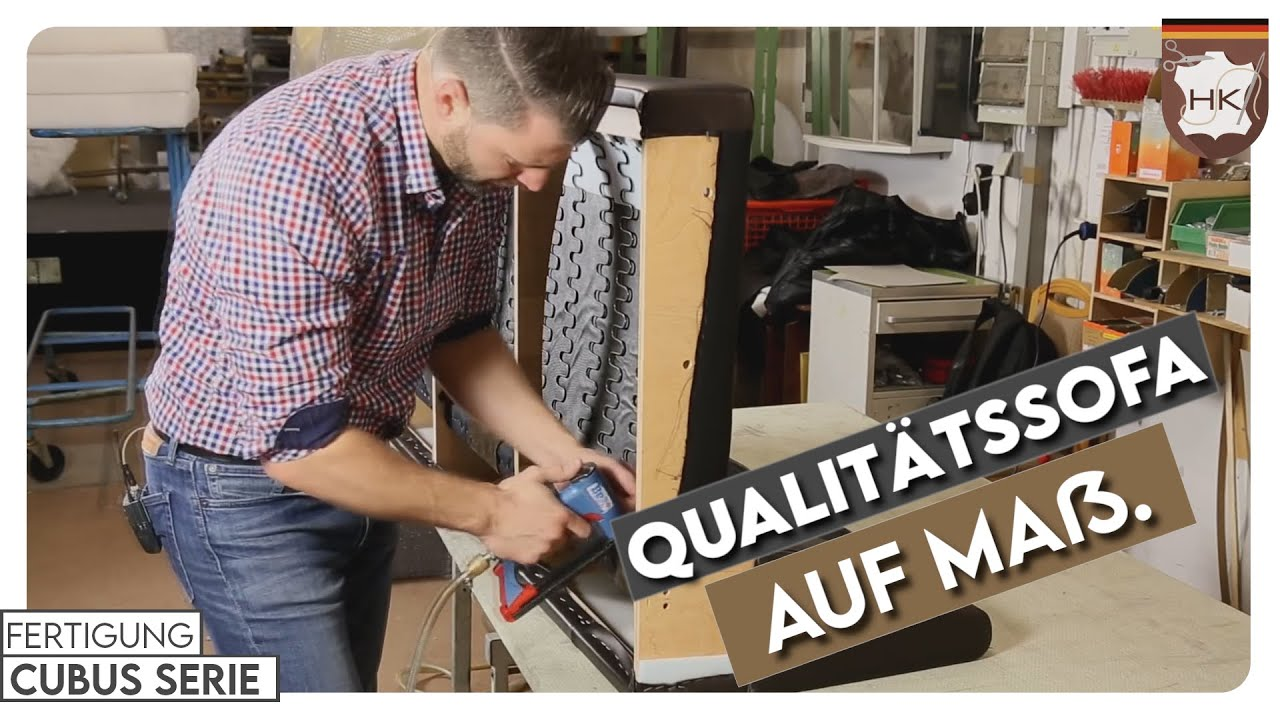Qualit ts sofa made in germany best of youtube Sofa mit dampfreiniger reinigen