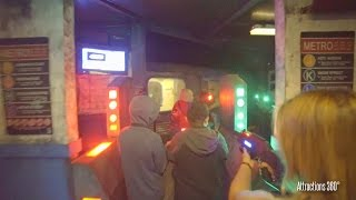 Infected Interactive Shooting Zombie Maze - Knott's Scary Farm 2016 - Zombie Laser Tag