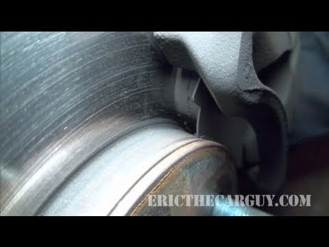 Brake Shim Fail - EricTheCarGuy