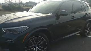New 2019 BMW X5 40i Review, Artic Grey, M Sport