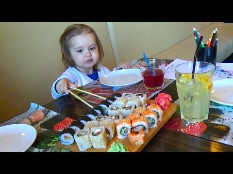 Сушия - кушаем роллы и суши