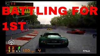 Gran Turismo 3 Playthrough Part 41- Replay 1 CLOSE RACE BETWEEN 4 CARS!