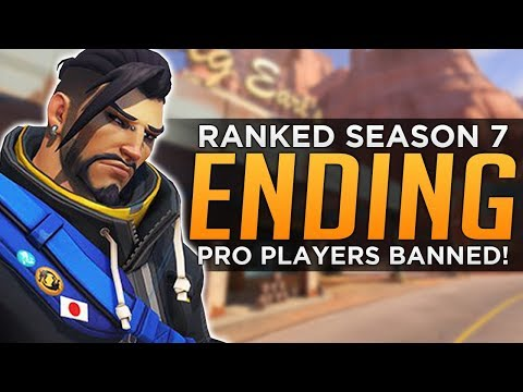 Overwatch: Season 7 is ENDING! - More Pros & One Trick BANS!