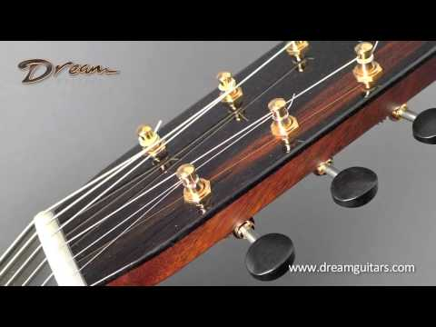 2015 Bourgeois Soloist OMC Brazilian/Adirondack (Red)