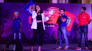 Anchor Arpita hosting for Asian Paints : fun games, team building activities and much more